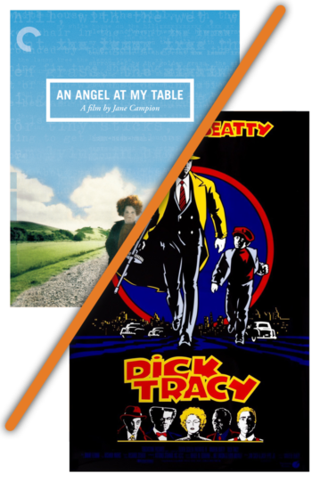 Poster: An Angel at My Table and Dick Tracy